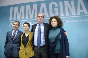 Gian Paolo Manzella, Marta Bonafoni, Nicola Zingaretti, Cristana Avenali