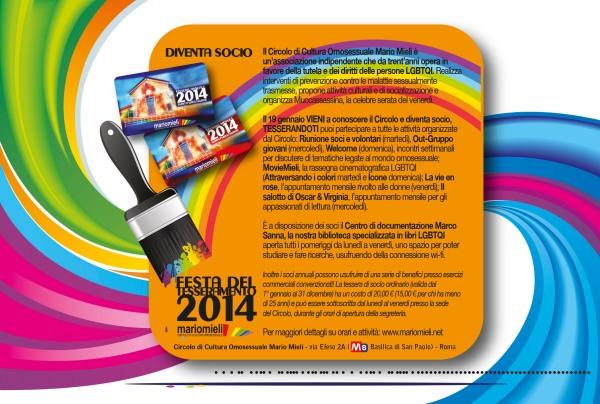 flyer tesseramento 2014