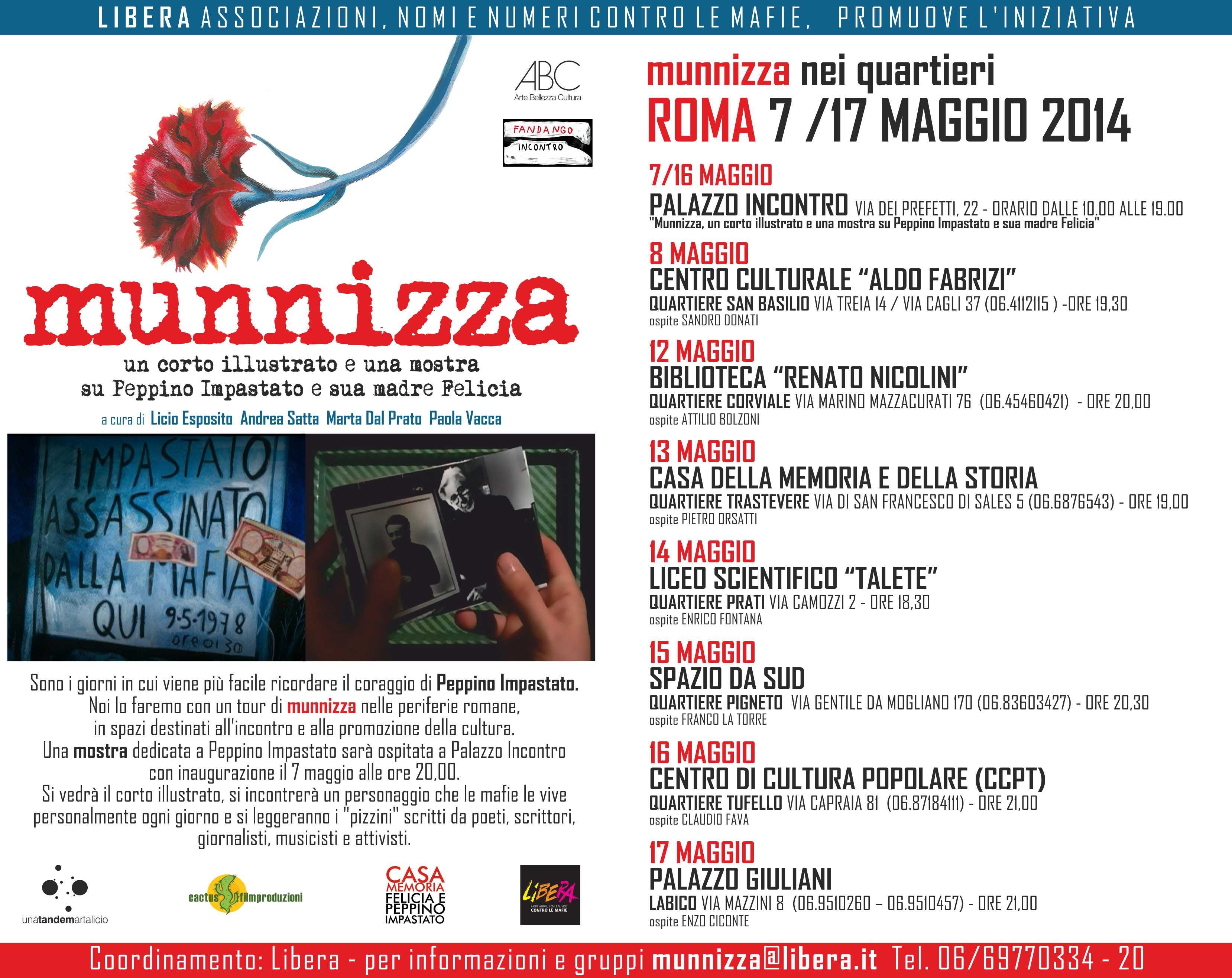 MUNNIZZA ROMA PAGINA WEB
